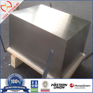 ASTM B381 GR5 Titanium Square Target with Machined Surface