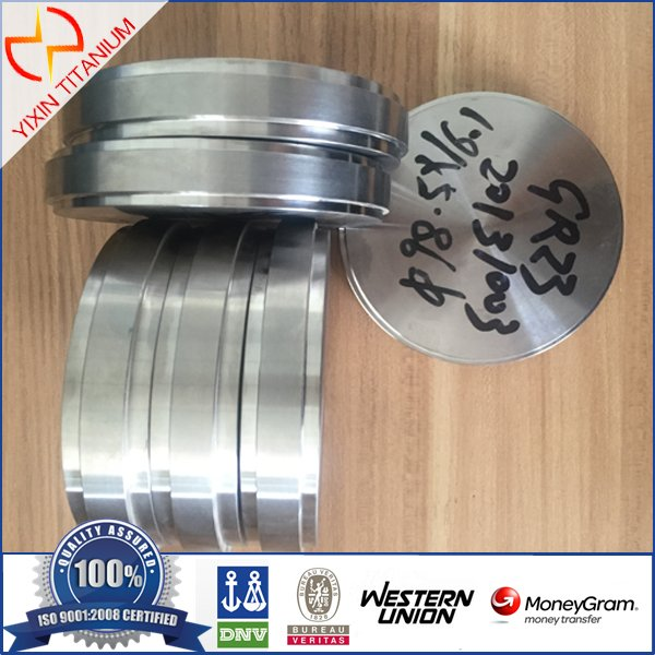 ASTM F136 Gr23 Titanium Target for Medical Use