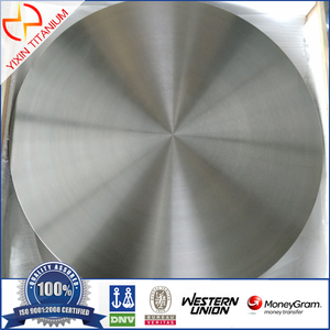 Titanium forged plate ASTM B381 F5