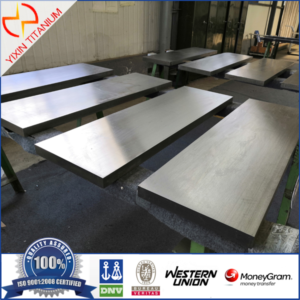 Ti6Al4V Titanium Gr5 Forged Plate with High Strength