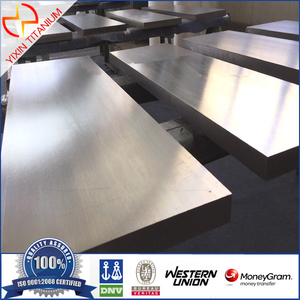 Baoji Yixin-ASTM B381Titanium forged plate AMS 4928 forged plate with high strength Titanium plate by forging with good quality