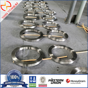 Baoji Yixin-Ti 6Al4V forged ring TC4/Gr5 military forged seamless ring titanium alloys ring with UT A test